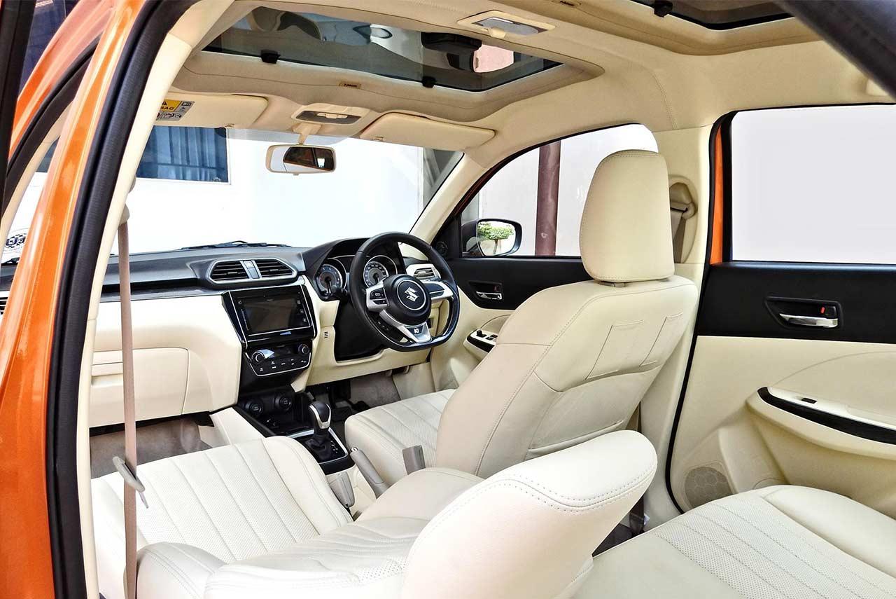 2017 Maruti Suzuki Dzire Modified Kitup Interior Autobics