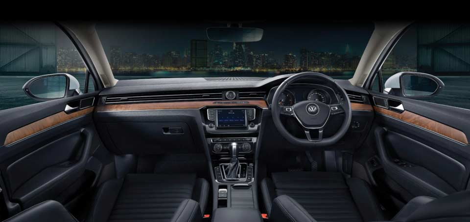 2017 vw passat interior dashboard pr | AUTOBICS