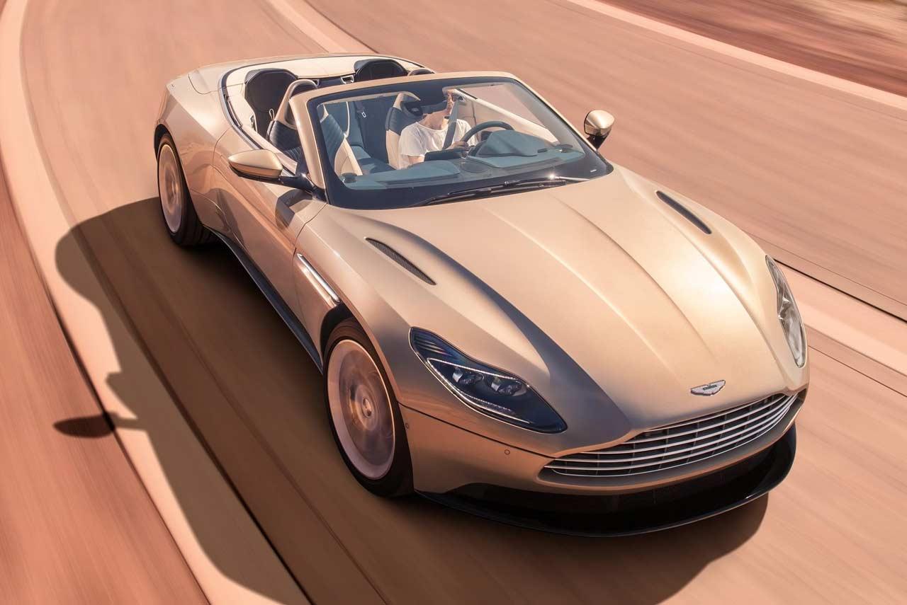 2018 Aston Martin DB11 Volante Unveiled - AUTOBICS