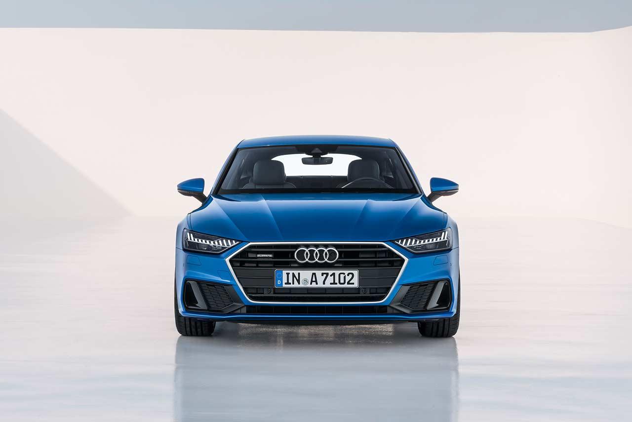 2018 Audi A7 Sportback Blue Front Pr Autobics