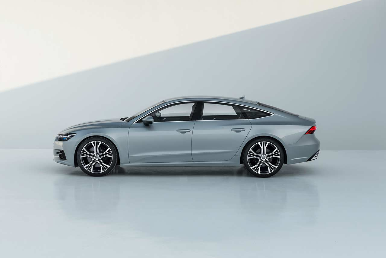 the new 2018 audi a7 sportback has been unveiled autobics. Black Bedroom Furniture Sets. Home Design Ideas