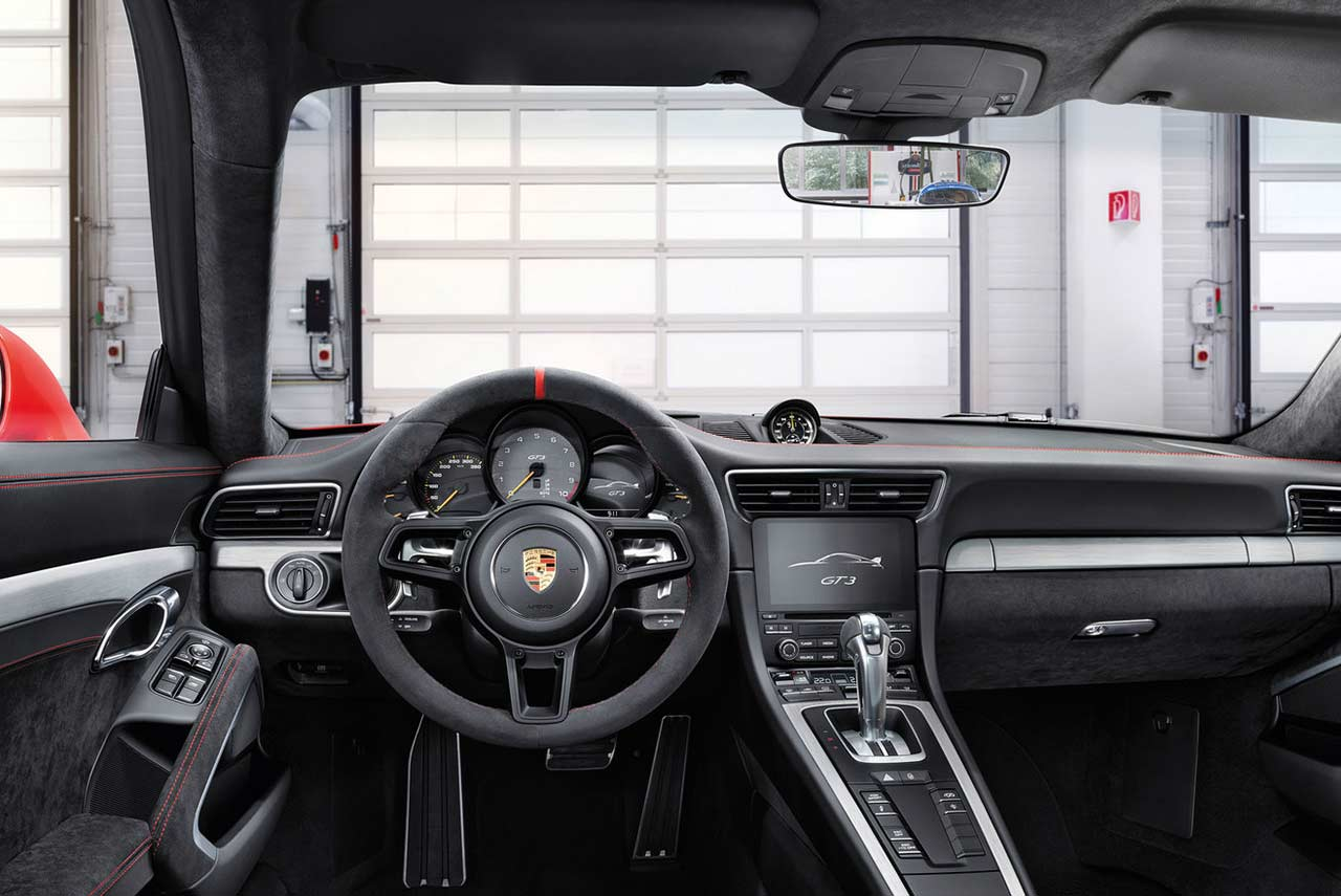 the new 2018 porsche 911 gt3 launched in india autobics. Black Bedroom Furniture Sets. Home Design Ideas