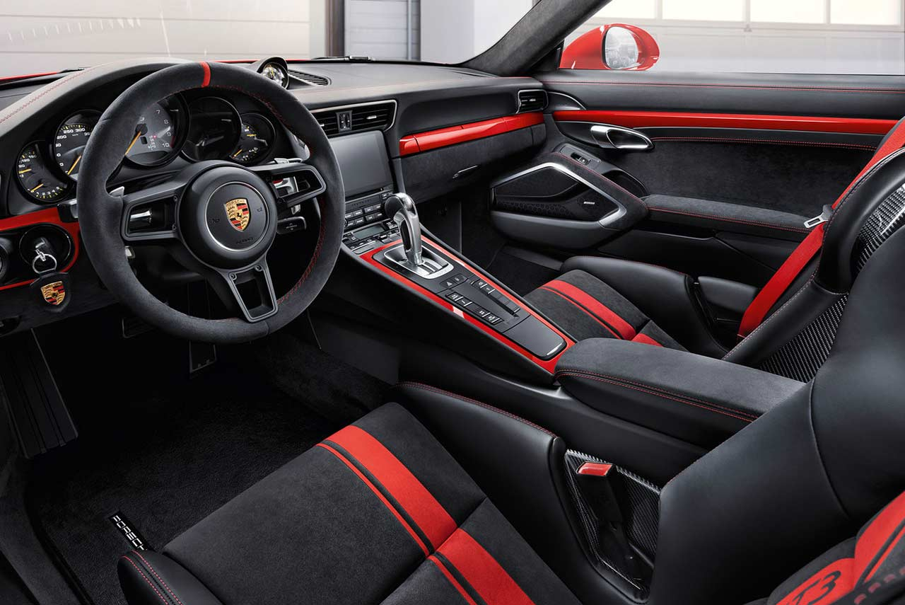 100    porsche carrera interior