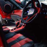 chevrolet cruze modified into red camaro motormind interior