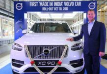 first made in india volvo xc90
