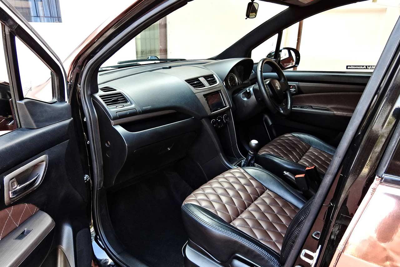 maruti suzuki ertiga modified kit up front interior | AUTOBICS