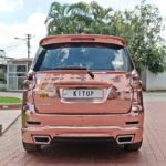 maruti suzuki ertiga modified kitup rose gold wrap rear