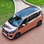 maruti suzuki ertiga modified kitup rose gold wrap rear top