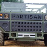 partisan one military vehicle front pr
