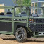 partisan one military vehicle front right pr