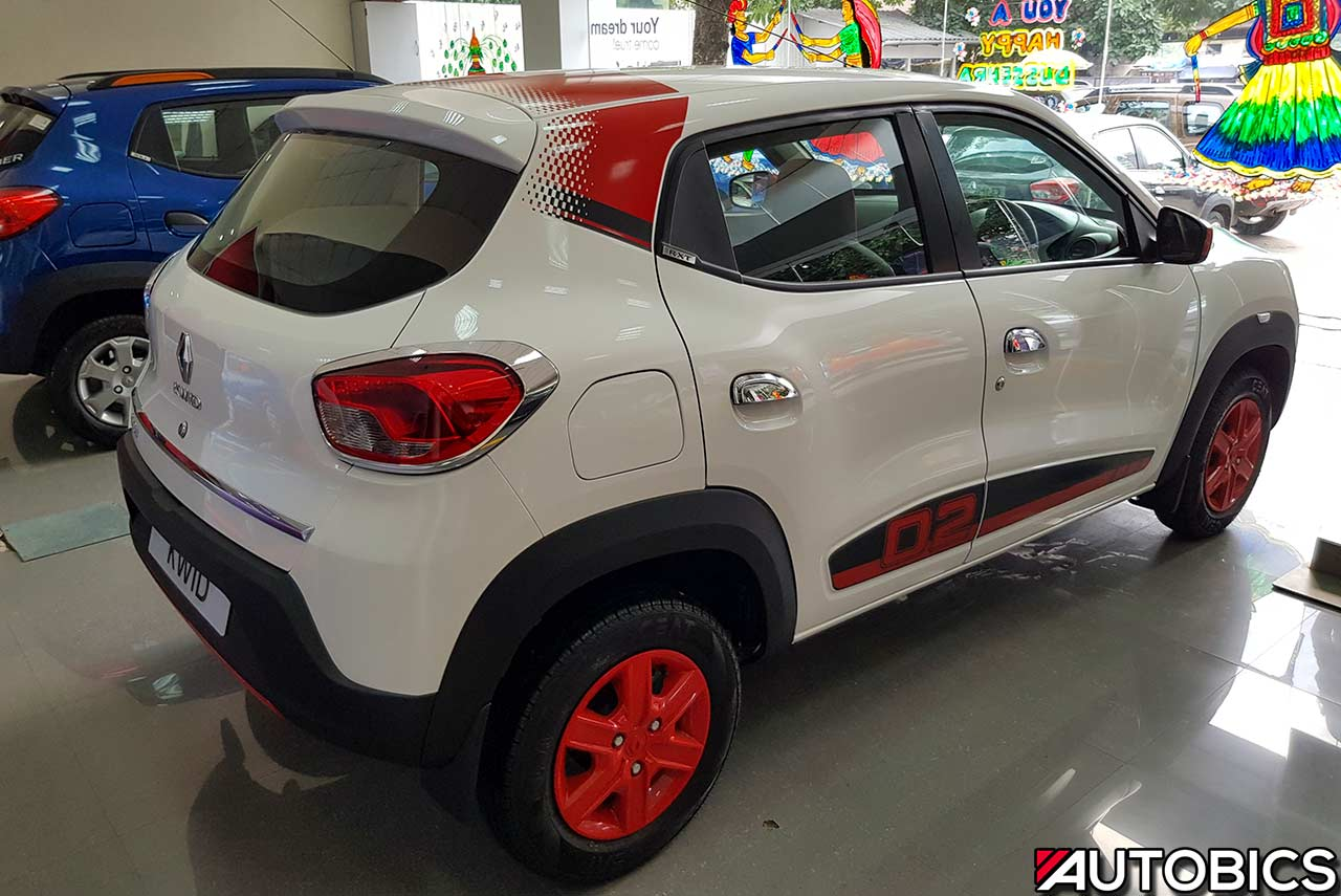 Renault Kwid 2nd Anniversary Edition Ice Cool White Rear