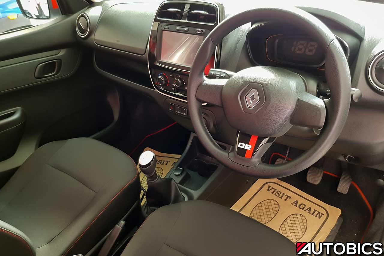 Renault Kwid 2nd Anniversary Edition Interior Autobics