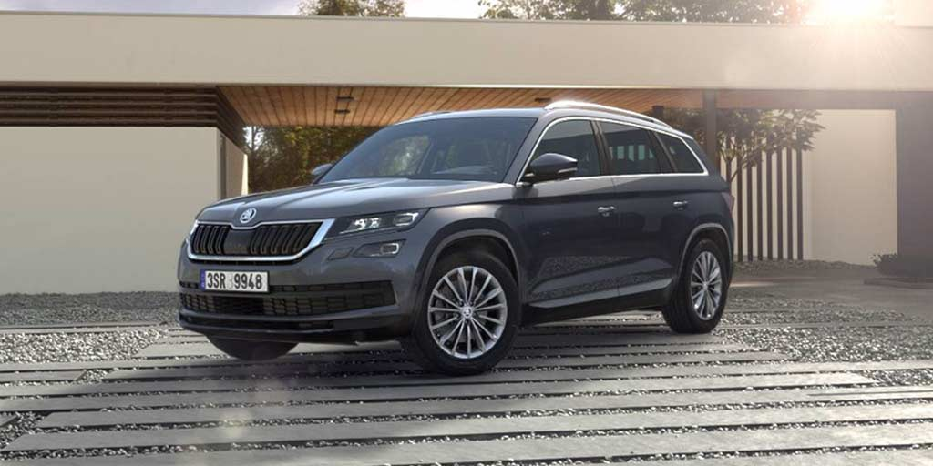 Black Kodiaq >> Skoda Kodiaq Priced at INR 34.49 Lakh in India - AUTOBICS