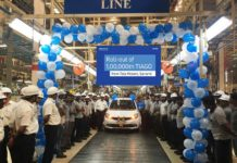1,00,000th Tata Tiago rolls out from Sanand plant in Gujarat
