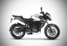 2017 Bajaj Pulsar NS200 ABS Mirage White