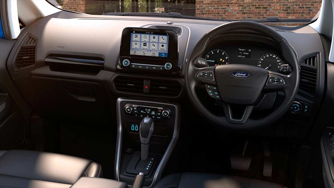 Ford Ecosport Interior White 2017 Ford EcoSport Int...