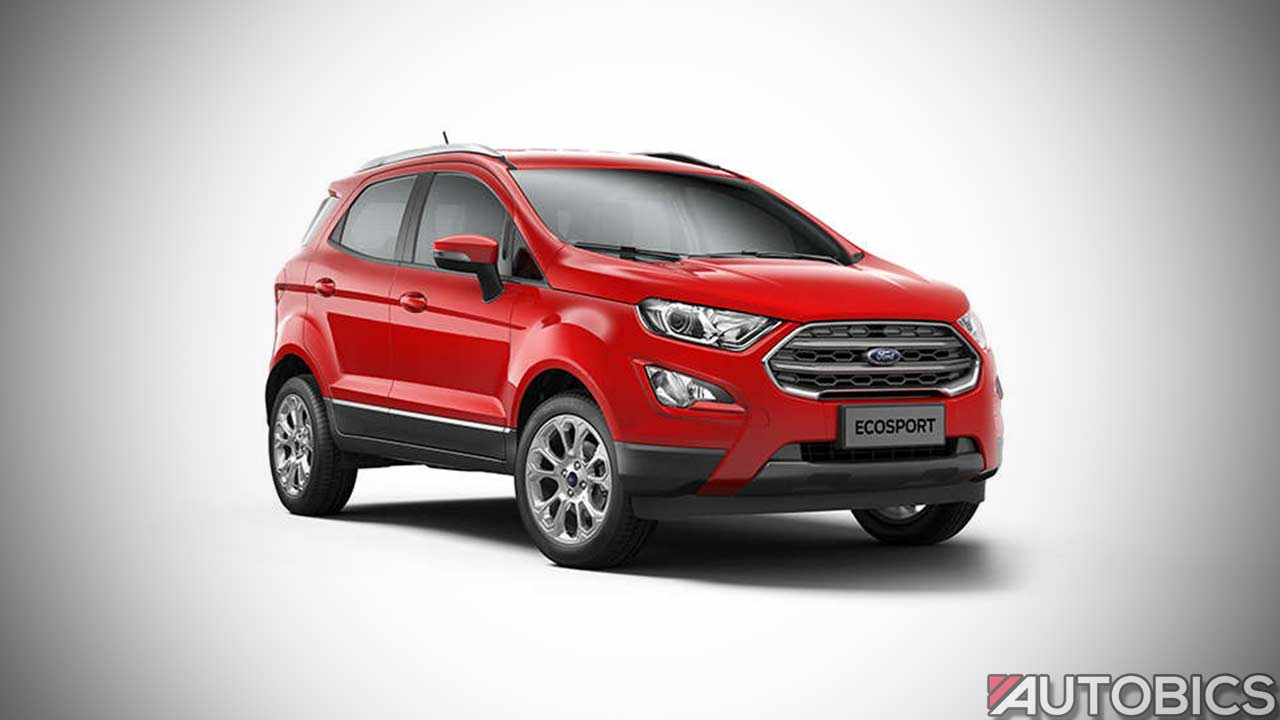 new 2017 ford ecosport launched in india autobics. Black Bedroom Furniture Sets. Home Design Ideas