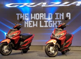 2017 honda grazia price india