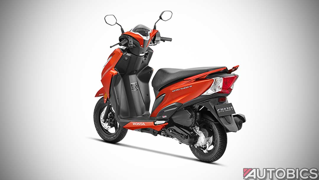 2017 honda grazia scooter launched in india