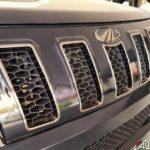 2017 mahindra tuv 300 bold black front grill