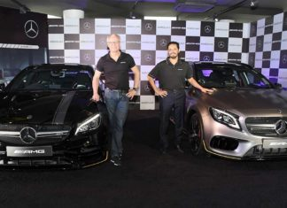 2017 mercedes-amg gla 45 4matic and mercedes-amg cla 45 4matic india