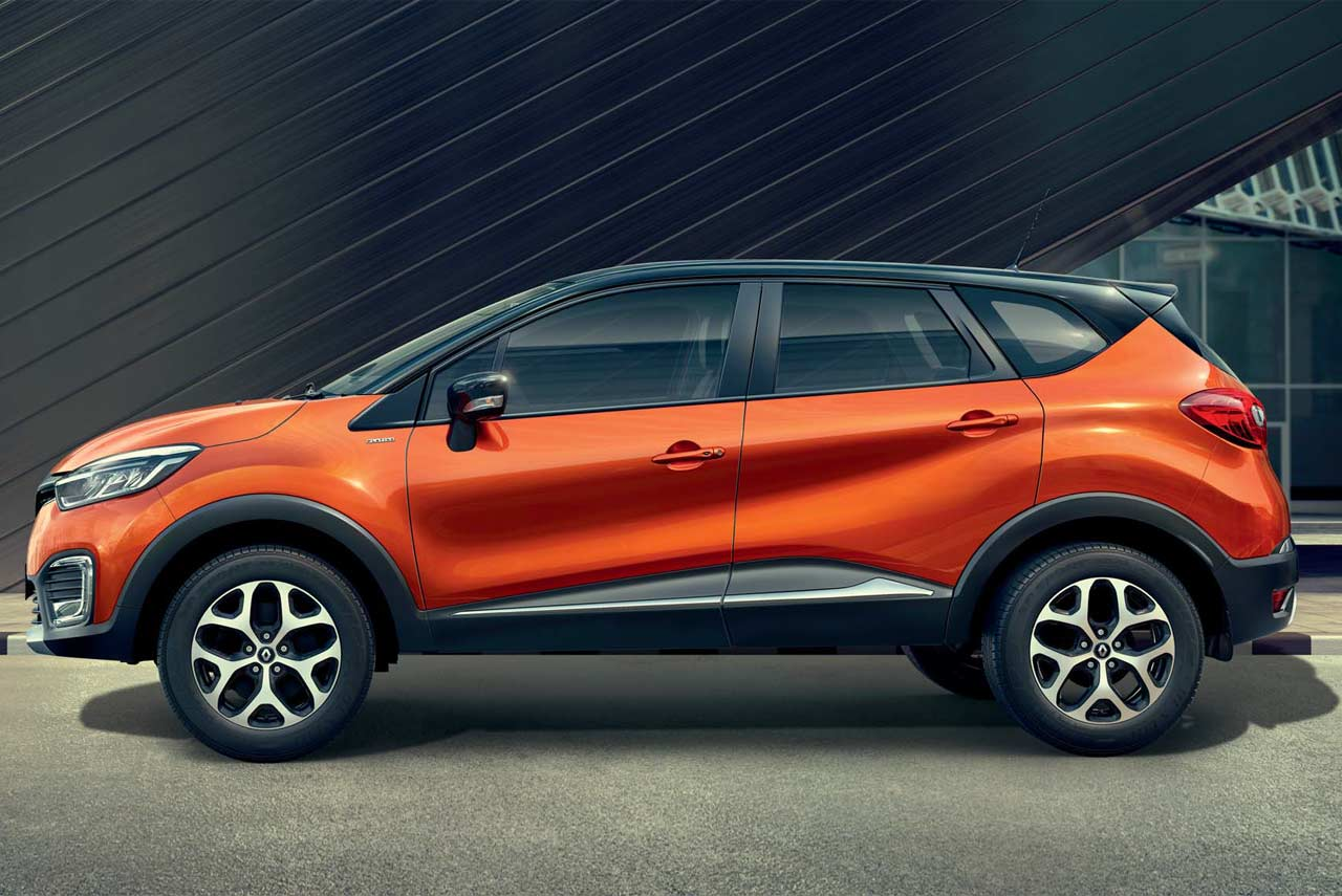 2017 Renault Captur Cayenne Orange Body With Mystery Black