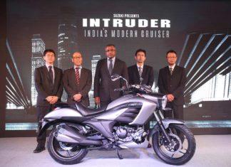 2017 suzuki intruder price india pr