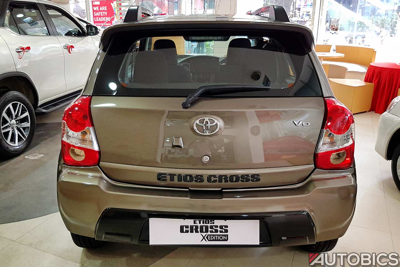 2017 Toyota Etios Cross X Edition Video And Images