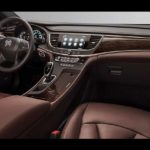 2018 Buick Lacrosse Avenir inside dashboard