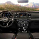 2018 Jeep Wrangler Unlimited Sahara Dashboard