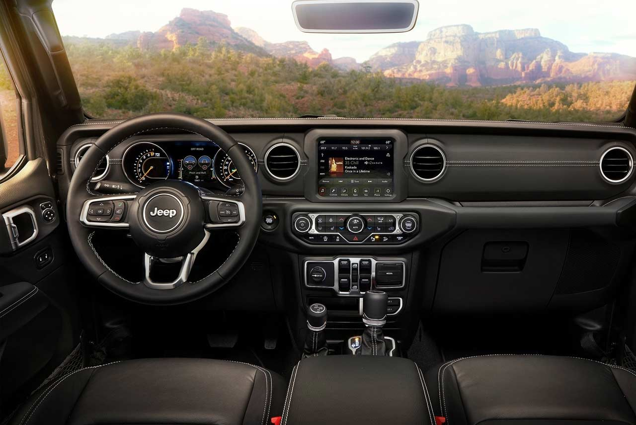 2018 Jeep Wrangler Unlimited Dashboard