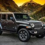 2018 Jeep Wrangler Unlimited Sahara Front Quarter