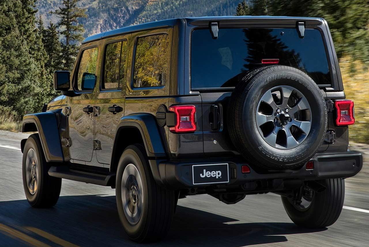 2018 jeep wrangler unveiled evolution of a legend autobics. Black Bedroom Furniture Sets. Home Design Ideas