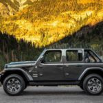 2018 Jeep Wrangler Unlimited Sahara Side Roof less