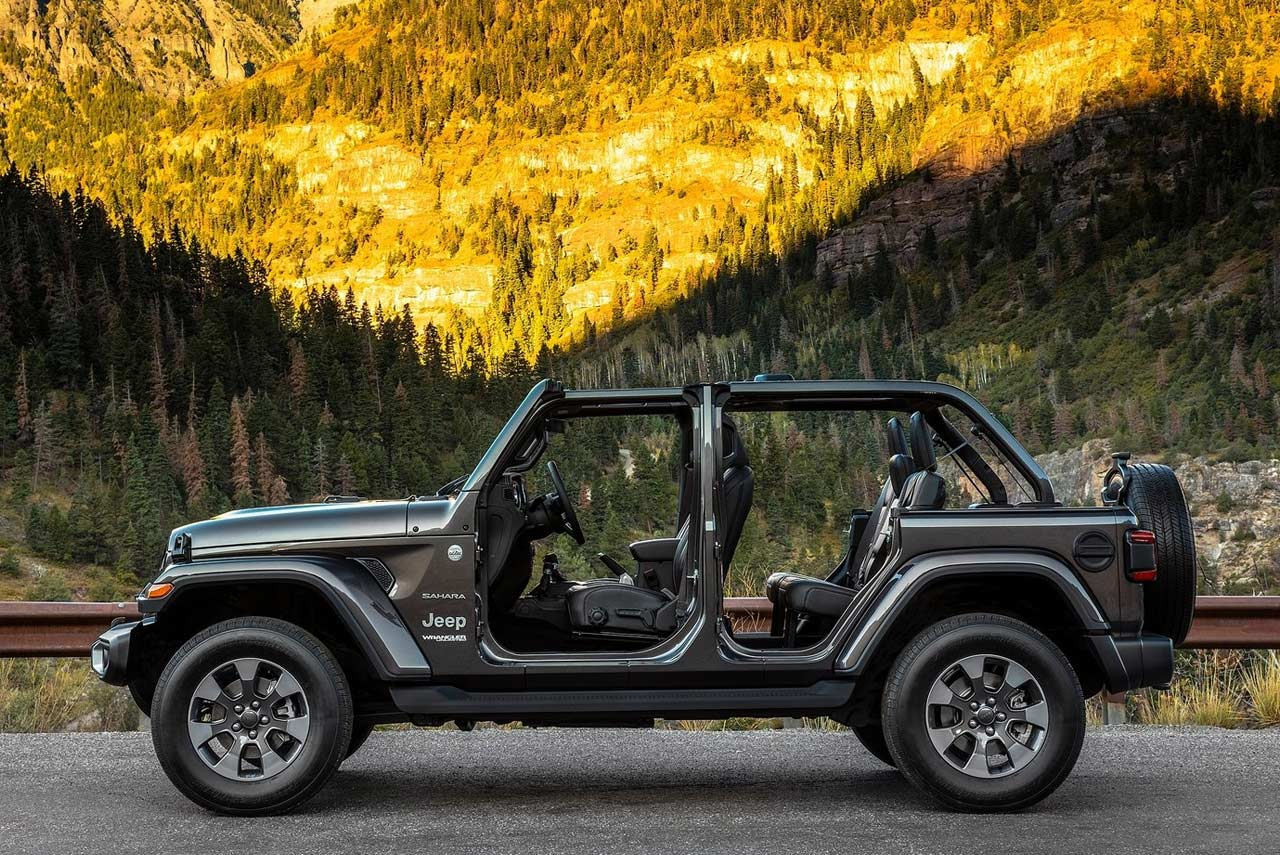 Jeep Wrangler 2018 >> 2018 Jeep Wrangler Unveiled; Evolution of a Legend- AUTOBICS
