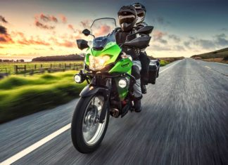 2018 Kawasaki Versys-X 300 Front Left