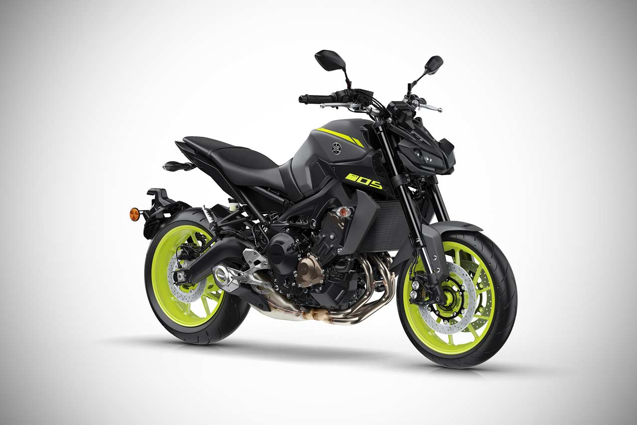 2018 yamaha mt 09 bluish gray solid autobics. Black Bedroom Furniture Sets. Home Design Ideas