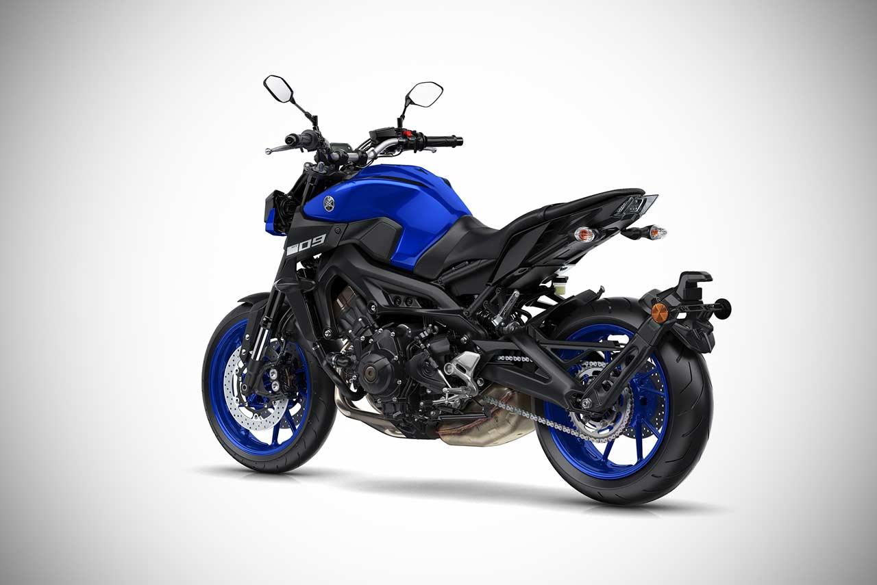 2018 Yamaha MT-09 Deep Purplish Blue