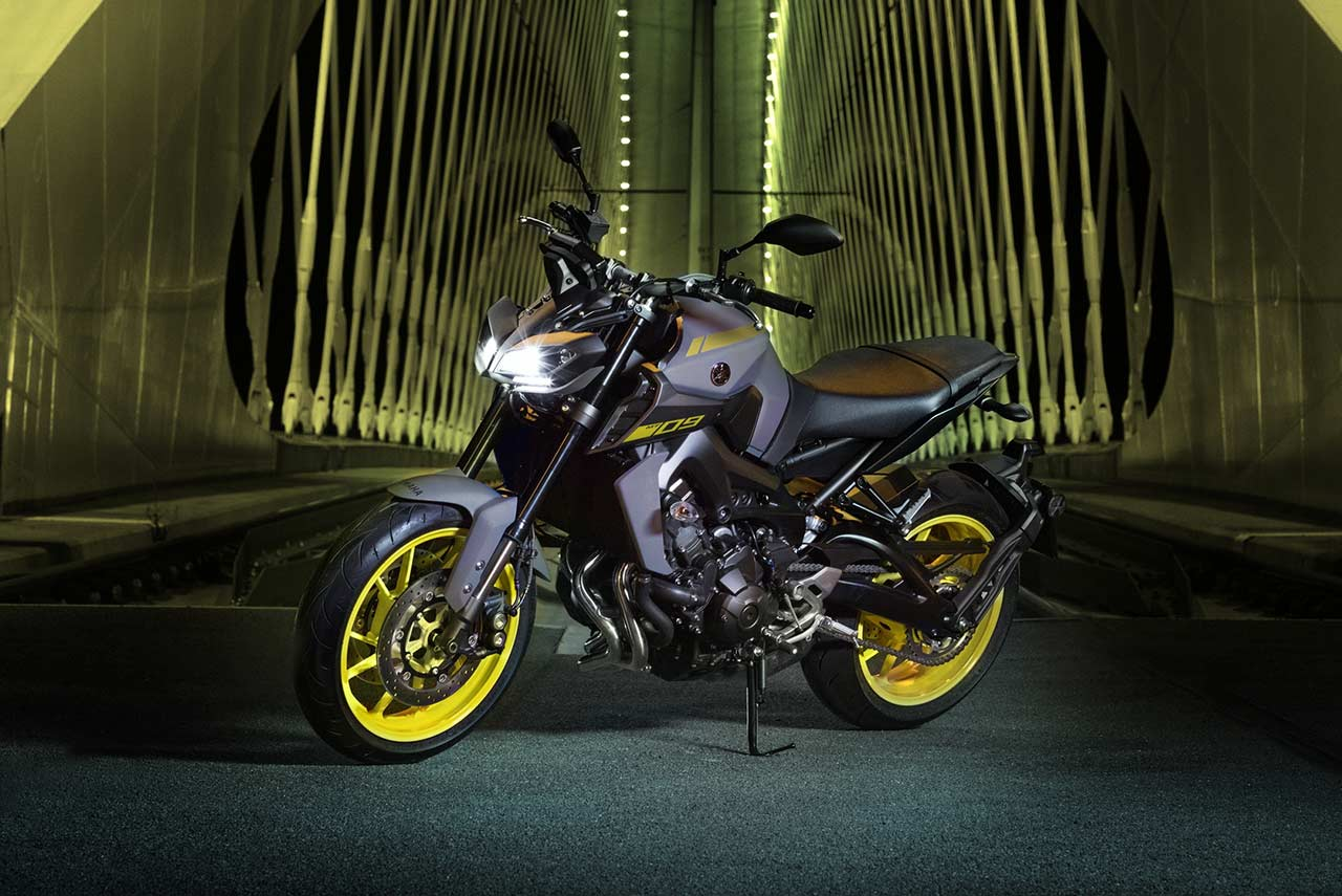 yamaha mt 09 2018 launched in india at inr lakh autobics. Black Bedroom Furniture Sets. Home Design Ideas