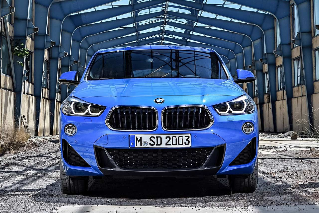 2018 bmw x2 m sport misano blue metallic autobics. Black Bedroom Furniture Sets. Home Design Ideas