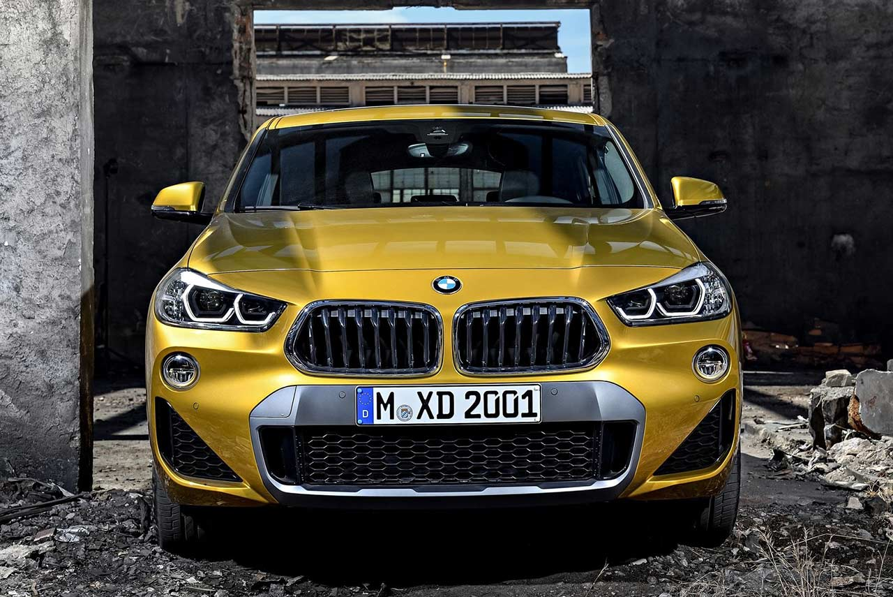 2018 BMW X2 M Sport X Galvanic Gold Metallic | AUTOBICS