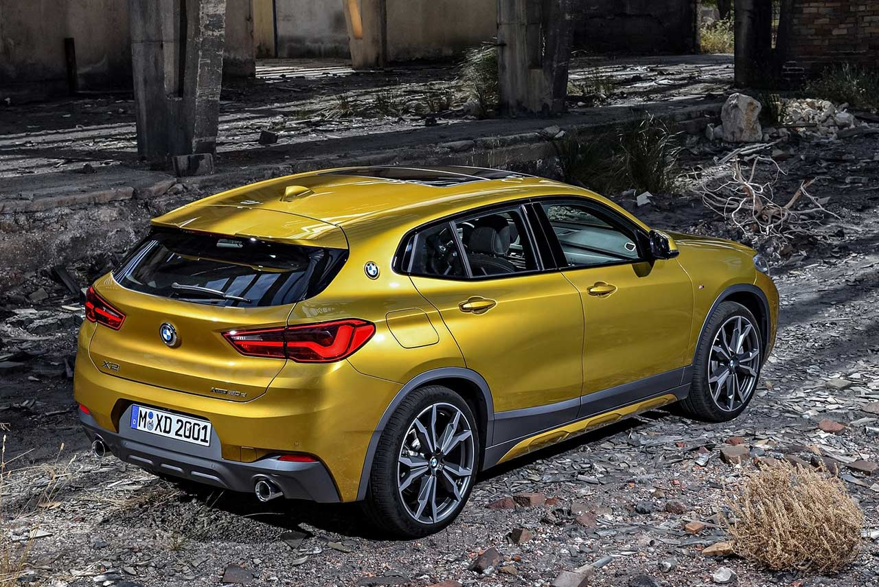 2018 bmw x2 sports activity coupe unveiled autobics. Black Bedroom Furniture Sets. Home Design Ideas