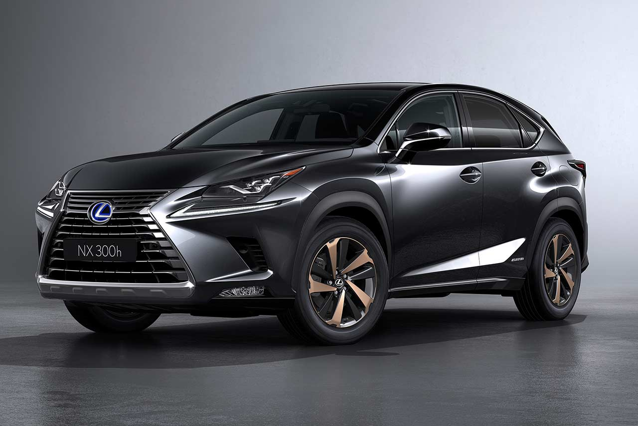 2018 lexus nx 300h showcased in india autobics. Black Bedroom Furniture Sets. Home Design Ideas