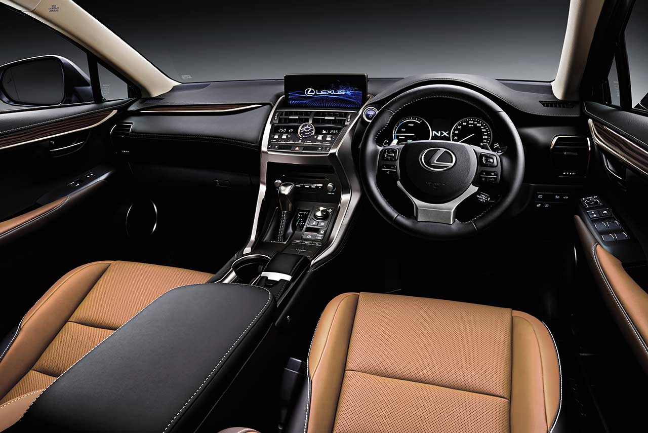 2018 Lexus Nx300h Luxury Interior Autobics