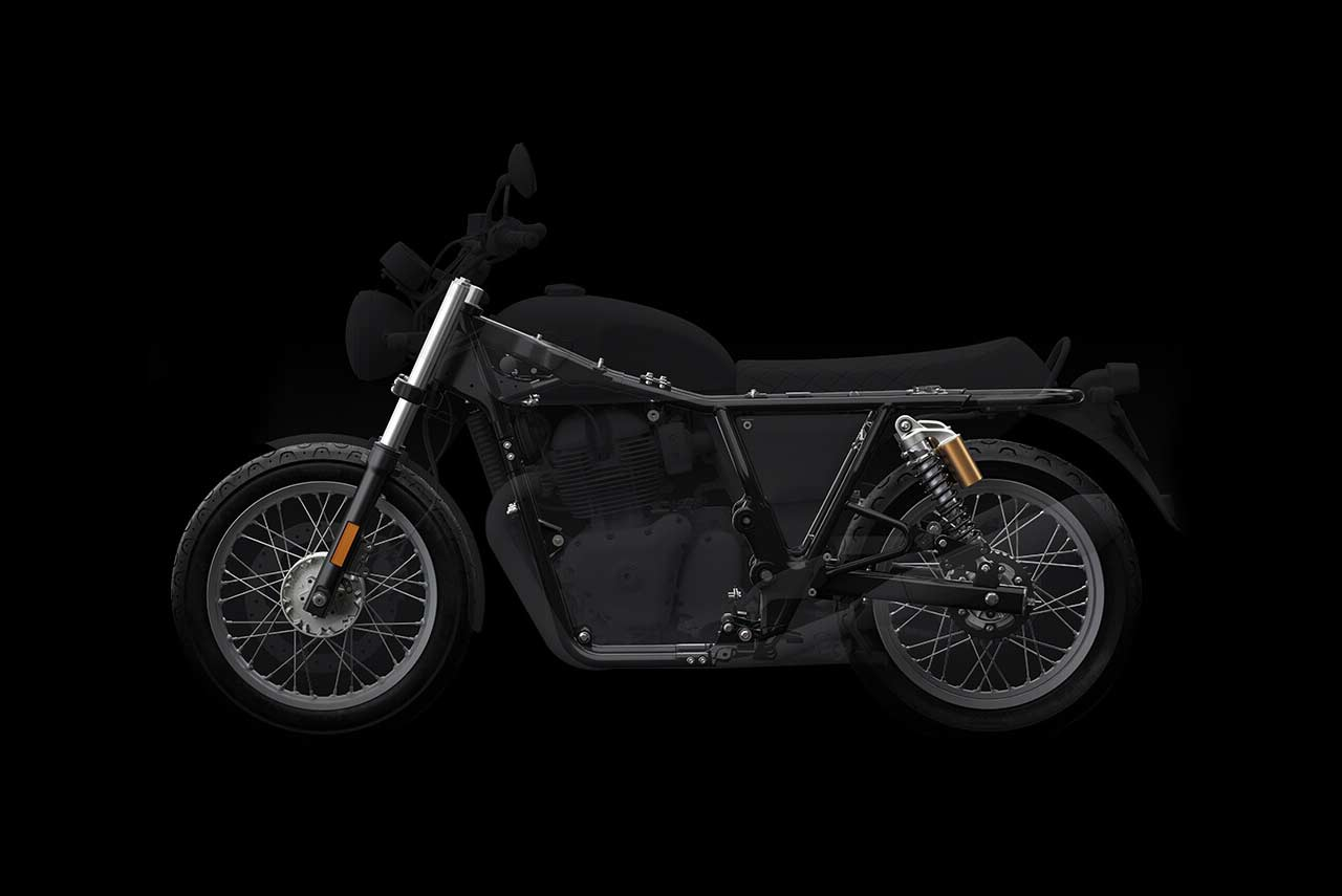 2018 royal enfield 650 twins chassis frame
