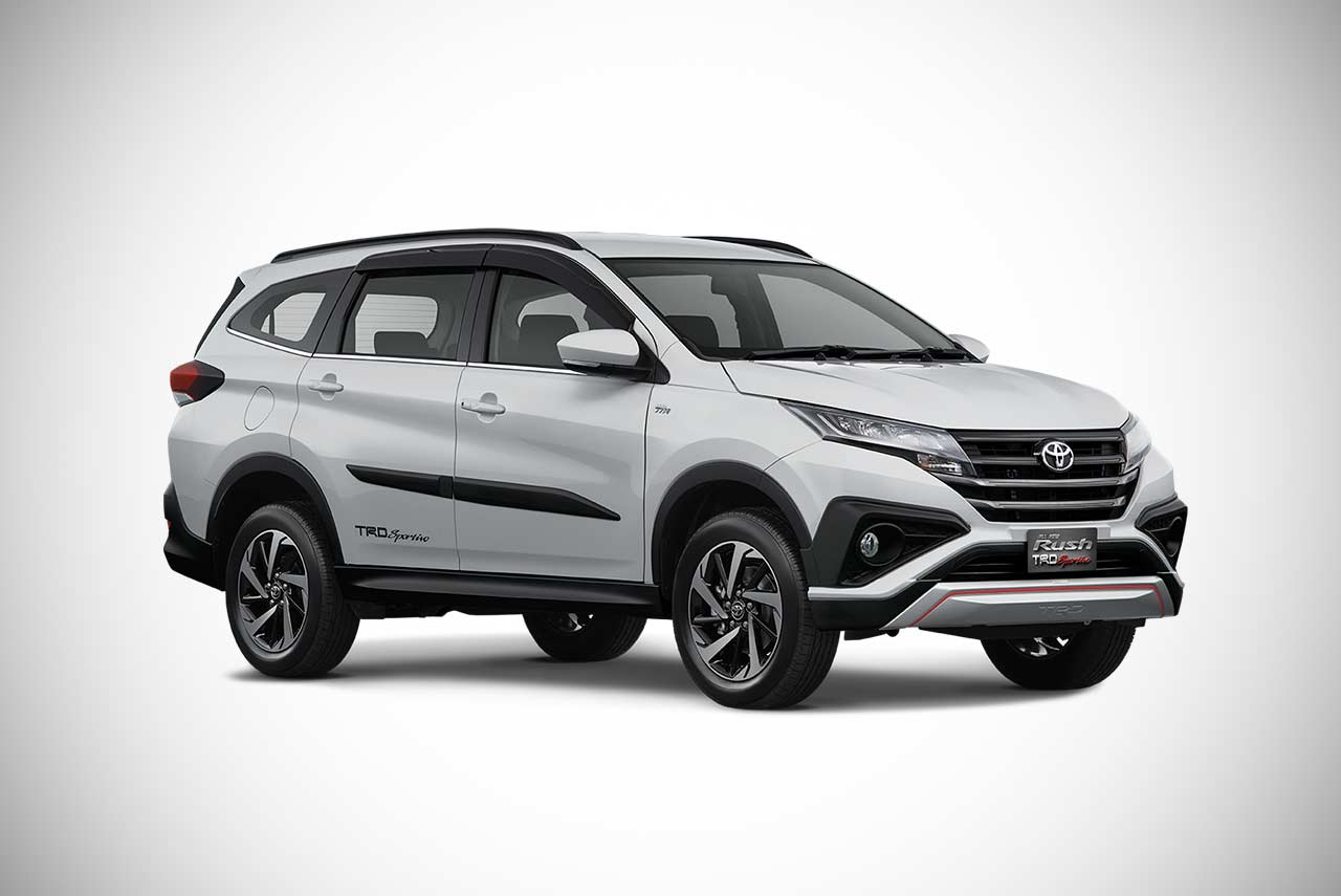 toyota rush suv unveiled  indonesia autobics