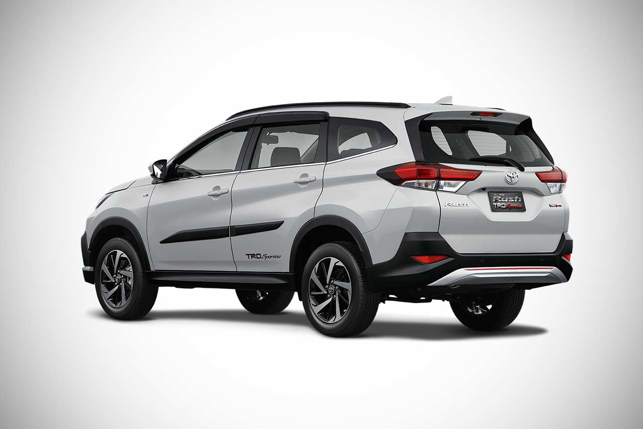 The all-new 2018 Toyota Rush SUV unveiled in Indonesia ...