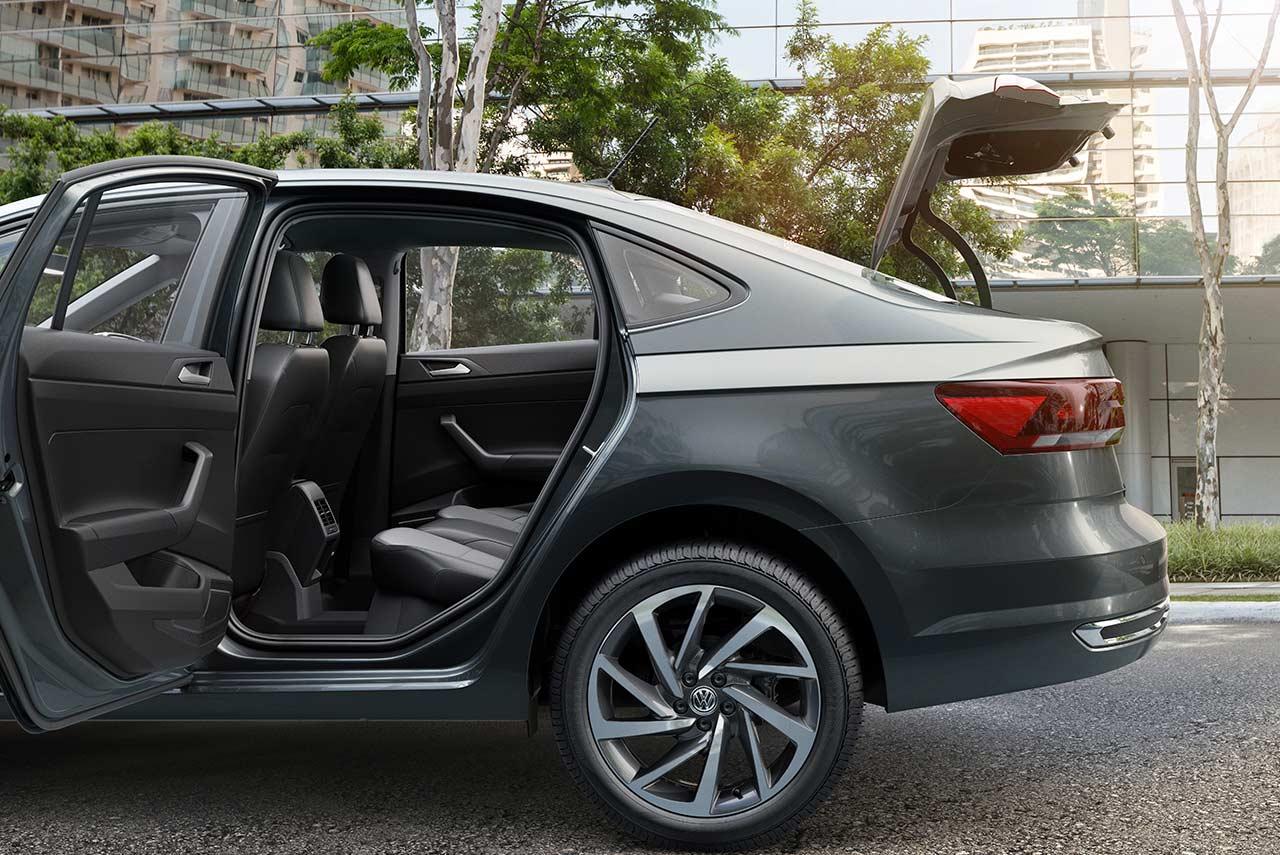 2018 Volkswagen Virtus Rear Door Open Autobics