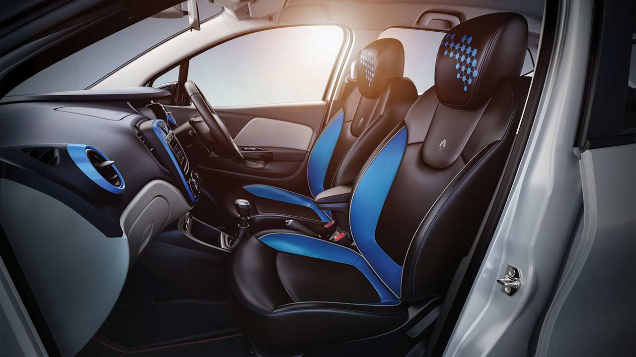 Renault captur blue urban connect interior 2017 autobics for Interior renault captur