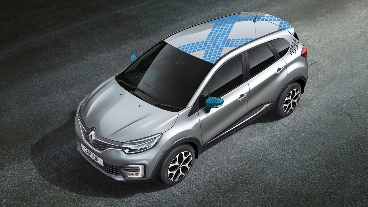 Renault Captur Diamond Deck Moonlight Sliver 2017 Autobics
